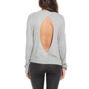 Chaser THERMAL OPEN-BACK PULLOVER Women's size s